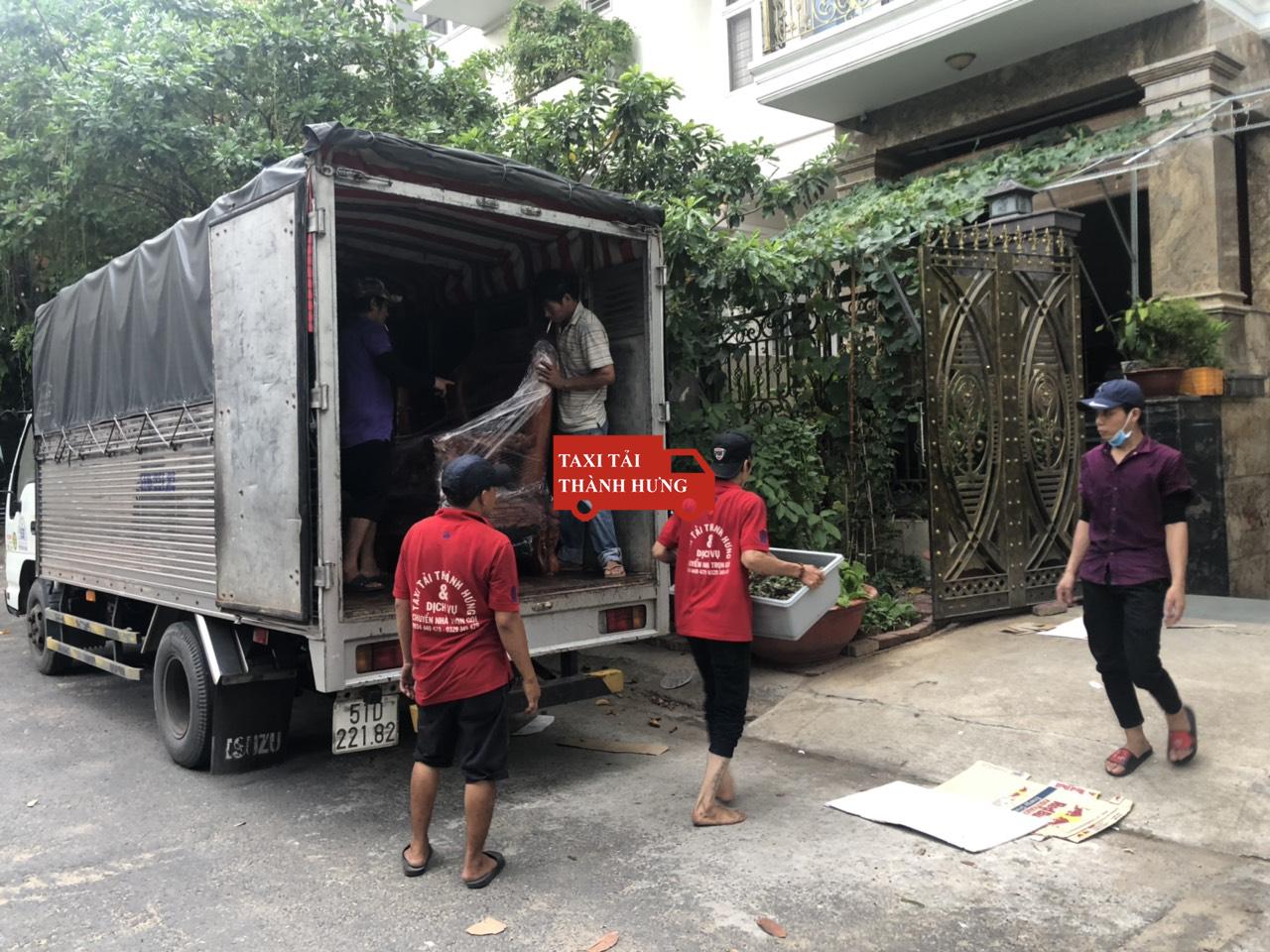 Taxi tải Thành Hưng uy tín quận 4