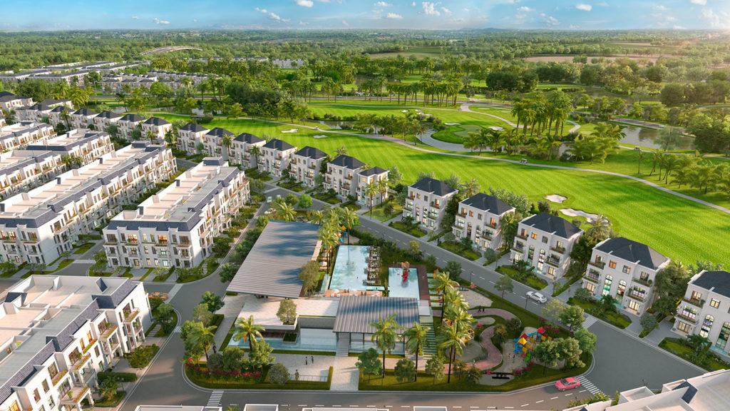 Long An sắp có quần thể biệt thự nghỉ dưỡng sân golf 200ha
