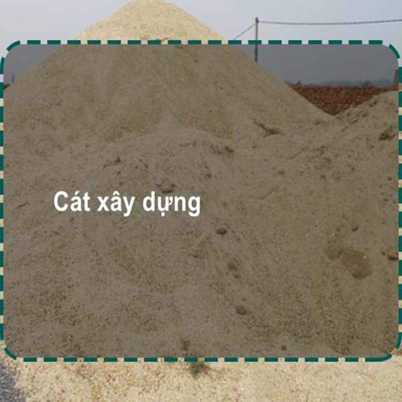 Giá cát xây dựng đảm bảo các tiêu chuẩn